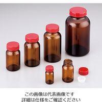 上園容器 規格瓶(広口) 茶褐色 134mL No.11 1本 2-4999-07 (直送品)