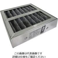 アズワン 卓上型脱臭ブース 交換用繊維活性炭フィルター(1枚入) 1枚 3-2021-11 (直送品)