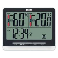 タニタ デジタル温湿度計 黒 TT-538-BK 1台 (直送品)