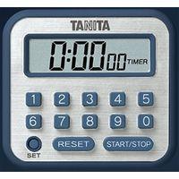 タニタ 長時間タイマー 青  TD-375-BL 1個 (直送品)