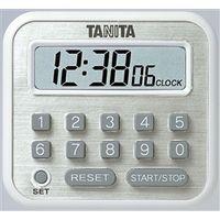タニタ 長時間タイマー 白  TD-375-WH 1個 (直送品)