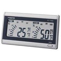 佐藤計量器製作所 デジタル温湿度計 ルームナビ PCー7700II  1069-00 1台 (直送品)