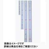ヤマヨ測定機 ユニオン直尺 直尺・定規  GU100 1本 (直送品)