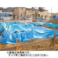萩原工業 #2200Zブルーシート 規格3.6×5.4m 10枚入 4962074781017 1セット (直送品)