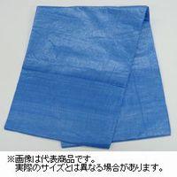 萩原工業 #1300ブルーシート 規格3.6×5.4m 10枚入 4962074000668 1セット (直送品)