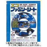 萩原工業 エコファミリーシート#3000 規格3.6×5.4m 10枚入 4962074704733 1セット (直送品)
