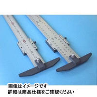 TOEI INDUSTRY(東栄工業) スケールステンレスキャリパー 60cm SC-600 1本 (直送品)