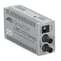 アライドテレシス CentreCOM LMC111 (RoHS) メディアコンバーター 100M MMF2心(ST)×1 0415R 1式(直送品)