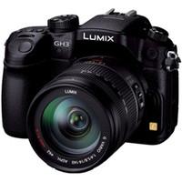 パナソニック デジタル一眼カメラ LUMIX GH3 レンズキット (ブラック) DMC-GH3H-K 1台(直送品)