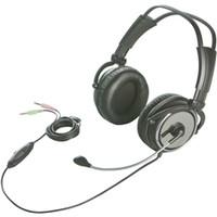 バッファロー 両耳ヘッドバンド式ヘッドセット 完全密閉タイプ ブラック BSHSH11BK 1台(直送品)