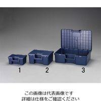 エスコ(esco) 370x275x170mm パーツボックス 1セット(2個) EA505RG-2(直送品)