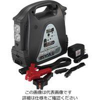 エスコ(esco) AC100V/120W・DC12V/12Aポータブル電源 1個 EA812HB-2A(直送品)