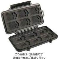 エスコ(esco) 122x57x14mm/内寸SDカードケース 1セット(2個) EA759Z-11T (直送品)