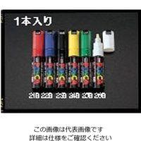 エスコ(esco) [白/太字] 水性マーキングペン 1セット(20本) EA765MK-26B(直送品)