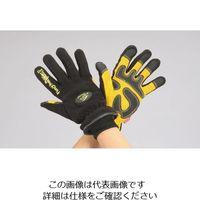 エスコ(esco) [XL] 手袋(防水防寒/豚革・フリース) 1セット(2双) EA915G-78(直送品)