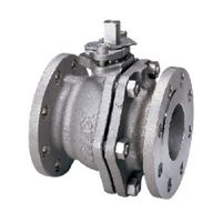 キッツ ステンレス鋼製汎用ボールバルブ10K 6  10UTBD-150A 1個 (直送品)