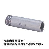 キッツ ステンレス鋼ねじ込み継手 片長ニップル SUS304TP 3/8 PK100L-10A 1個 (直送品)
