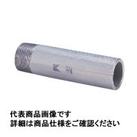 キッツ ステンレス鋼ねじ込み継手 片長ニップル SUS304TP 1/2 PK50L-15A 1個 (直送品)