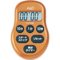 エー・アンド・デイ(A&D) デジタルタイマー赤 AD5706RE-BP 1個 376-1266 (直送品)