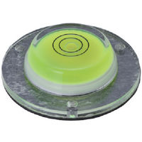 エビス エビスダイヤモンド 磁石付丸型レベル ED-CIM 1個 410-5435(直送品)
