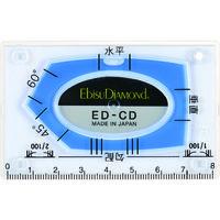 エビス エビスダイヤモンド カードレベル・ブルー ED-CDBL 1枚 410-5401(直送品)