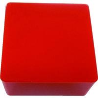 エクシールコーポレーション エクシール 防振・緩衝ブロック ゲルダンパー 赤 100X100mm GD70-100 1個 410-5974(直送品)