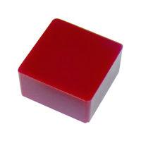 エクシールコーポレーション エクシール 防振・緩衝ブロック ゲルダンパー 赤 50X50mm GD70-50 1個 410-5982(直送品)
