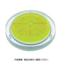 アカツキ製作所(Akatsuki MFG) KOD 取付穴付角度計付丸台型アイベル水平器 INC-RT150 1本 417-0121(直送品)