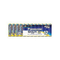 パナソニック(Panasonic) エボルタ乾電池 お買得単3形12本パック LR6EJ/12SW 1パック(12本) 362-2657 (直送品)