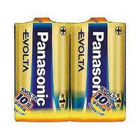 パナソニック(Panasonic) エボルタ乾電池 単1形2本パック LR20EJ/2SE 1パック(2本) 362-2649 (直送品)