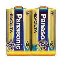 パナソニック(Panasonic) エボルタ乾電池 単2形2本パック LR14EJ/2SE 1パック(2本) 362-2631 (直送品)