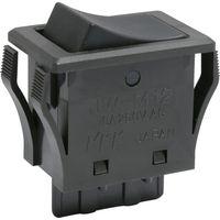 NKKスイッチズ ロッカスイッチ JW-Mシリーズ 単極 ON-ON JW-M12RKK 1個 413-1991(直送品)