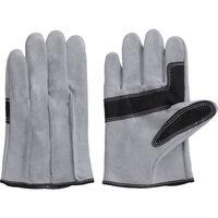 富士グローブ NO.60SH 牛床革背縫い手袋 袖なし 1732 1双 422-7131(直送品)