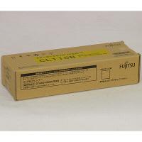 富士通 レーザートナーカートリッジ CL115B イエロー 0800160 (直送品)