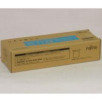 富士通 レーザートナーカートリッジ CL115B シアン 0800180 (直送品)