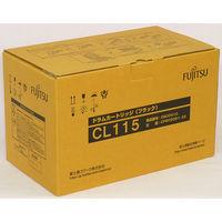 富士通 ドラムカートリッジ CL115 ブラック 0800410 (直送品)