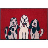 クリーンテックス・ジャパン Three Dogs 50×75cm デザインマット