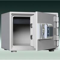 ダイヤセーフ  指紋タイプ耐火金庫 (30分耐火) 17L FP30-1 1台 (直送品)
