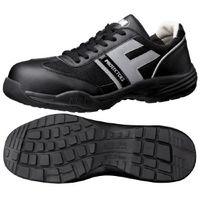 ミドリ安全 JSAA認定 小指保護 作業靴 プロスニーカー PF110 30.0cm ブラック 1足 2125035918(直送品)