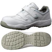 ミドリ安全 JSAA認定 小指保護 作業靴 プロスニーカー PF115 26.0cm ホワイト 1足 2125036211(直送品)