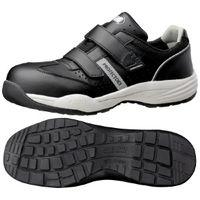 ミドリ安全 JSAA認定 小指保護 作業靴 プロスニーカー PF115 30.0cm ブラック 1足 2125036118(直送品)