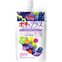 クリニコ ポチプラスのむゼリー グレープ&ブルーベリー 1箱(24袋入)  (直送品)