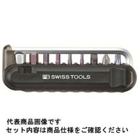 PB SWISS TOOLS バイクツールセット (9本組) ブラック 470BLACKCN 470BLACKCN 1セット (直送品)