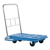 サカエ スタッキングハンドカー 均等積載荷重150kg ブルー SPD-720BC 1台(直送品)