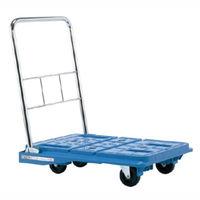 サカエ スタッキングハンドカー 均等積載荷重150kg ブルー SPD-720B 1台(直送品)
