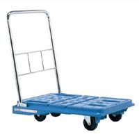 サカエ スタッキングハンドカー 均等積載荷重150kg ブルー SPD-720BS 1台(直送品)