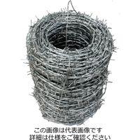 和気産業 有刺鉄線 バーブユニクロ #14×100M 13359300 1個(直送品)
