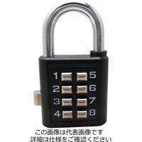 和気産業 南京錠プッシュボタンロックTW-910 35MM クロ TW-910 1セット(10個)(直送品)
