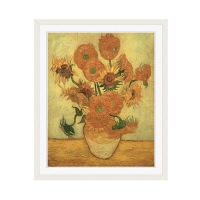 アートプリントジャパン 「Sunflowers 1889」 フレーム/M/ホワイト 1枚