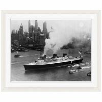 アートプリントジャパン 「ニューヨーク(1935年)」 フレーム/S/ホワイト 1枚